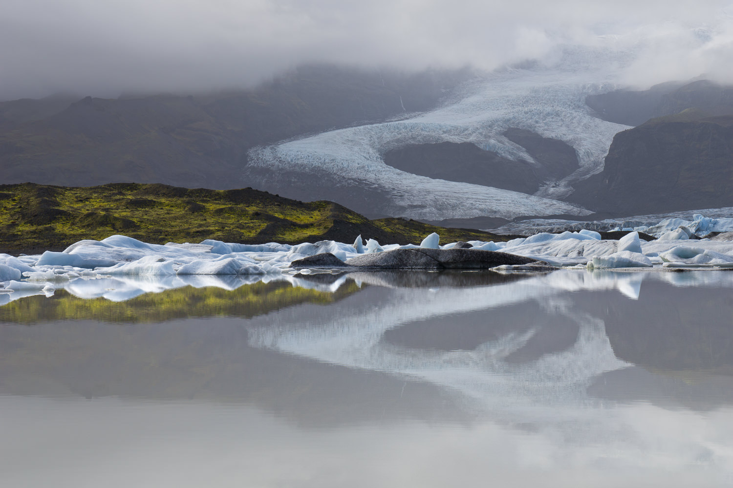 Glacial Reflections Iceland Sony A6000