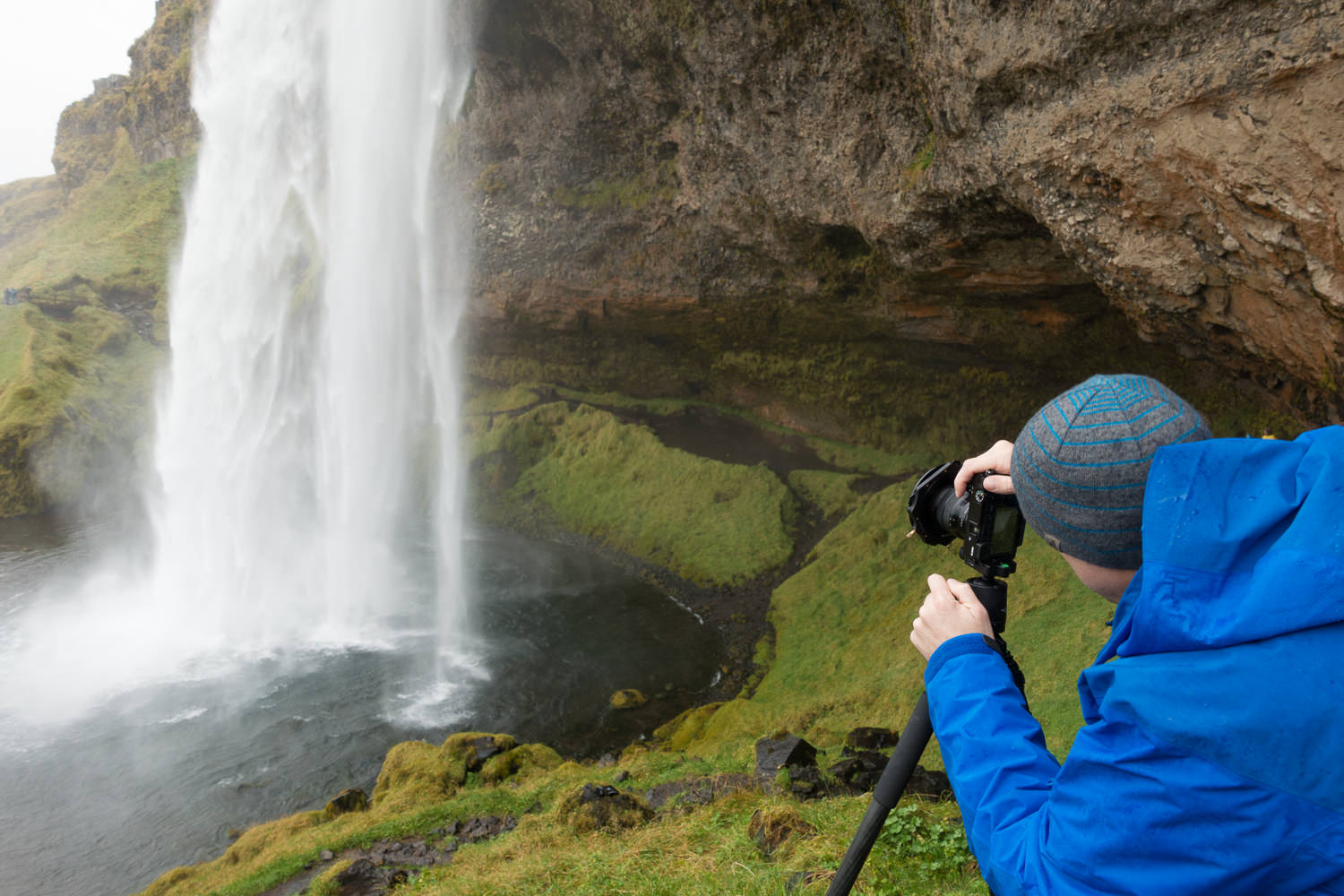 Sony a6000 in use in Iceland