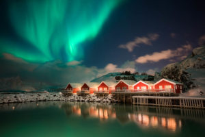 Leknes Northern Lights Lofoten Islands Norway Photo Workshop