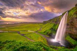 Stormy Sunset over Seljalandsfoss in Iceland Photo Workshop with Colby Brown