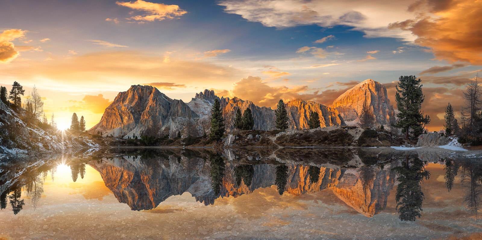 Lado di Limides Epic Sunset - Dolomites Photography Workshop