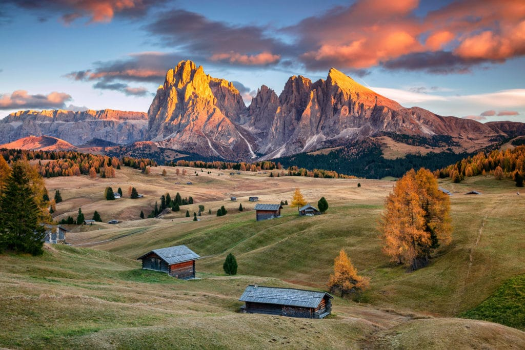 Seiser Alm Sunrise - Dolomites Photography Workshop
